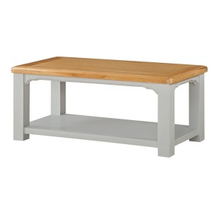 Colorado Coffee Table - Open Shelf