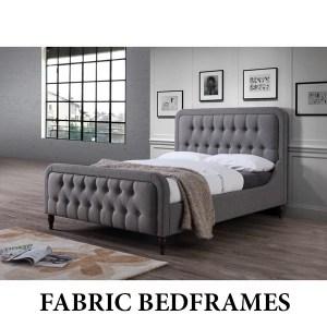 Fabric Bedframe