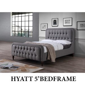 Hyatt - 4'6 bedframe