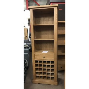 oxford tall wine rack