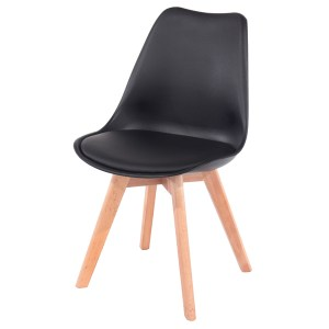 VAil Dining Chair - Black Seat Pad