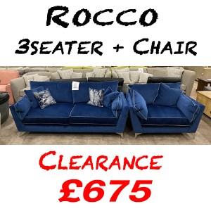 Rocco 3str+chair