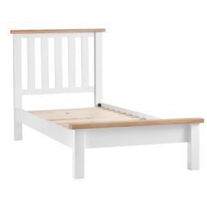 New England 3' Bedframe - White