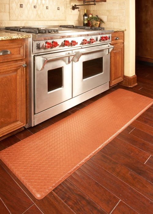 kitchen padded mats black storage cabinet gel filled floor relieve back and feet discomfort furniture fashion