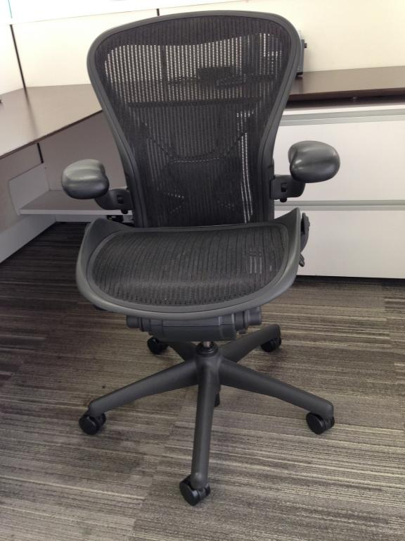 herman miller used office chairs swivel chair approach aeron size b at seating more photos listing image