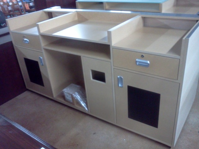 Used Office Parts and Accessories  retail counters at