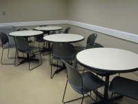 "Used Office Conference Tables : 36"" Breakroom Tables and ..."