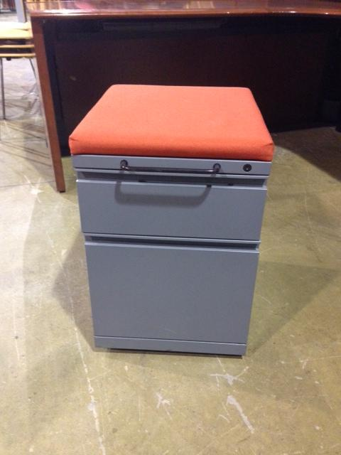 Used Office File Cabinets  KNOLL MOBILE CUSHION TOP