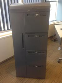 Used Office File Cabinets : Storage cabinet/combination at