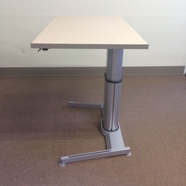Used Office Desks  Steelcase Airtouch Sit to Stand Desks
