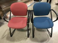 Used Office Chairs : Used Steelcase Ally Side Chair at