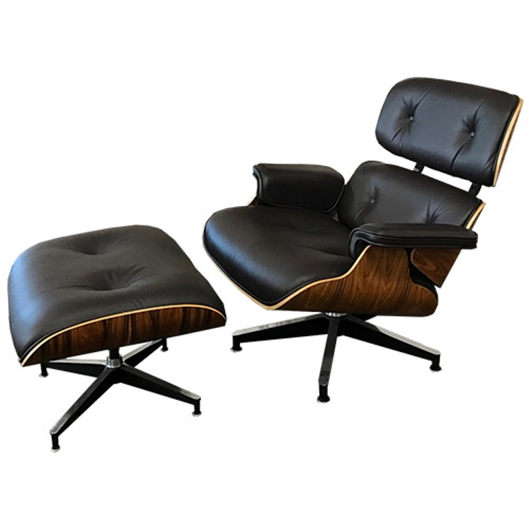 Used Office Chairs  Used Eames Lounge Chair with Ottoman