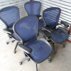 Herman Miller Aeron Chair Size B Reviews Wire Dining Chairs Used Office Quotb