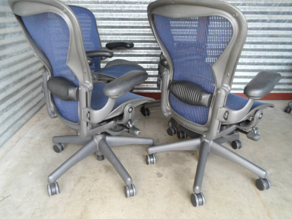 herman miller aeron chair size b reviews cover rental companies used office chairs quotb