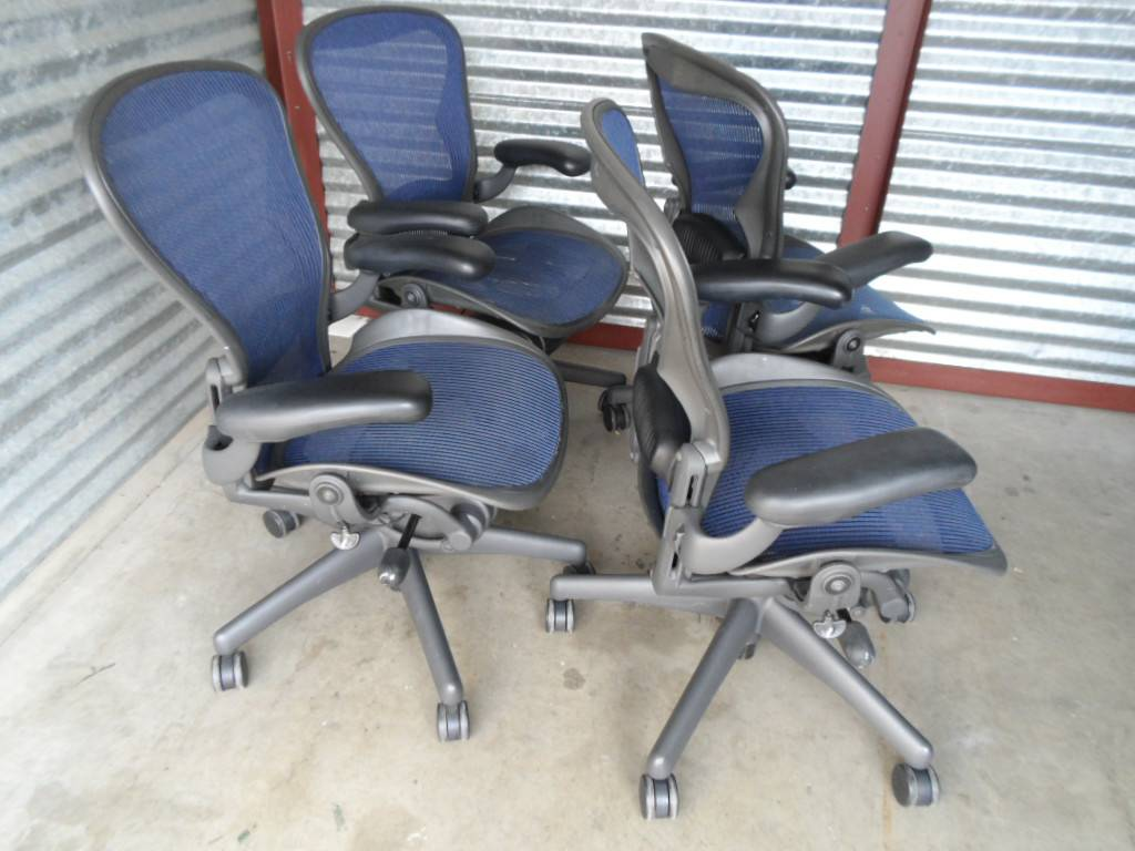 herman miller aeron chair size b reviews covers for beach wedding used office chairs quotb