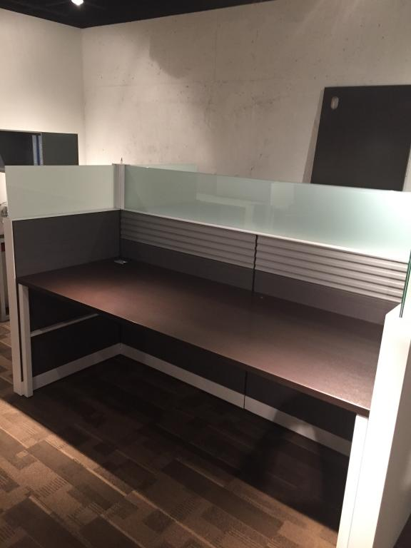 Used Office Cubicles SEXY Used Allsteel Stride Benching At Furniture Finders