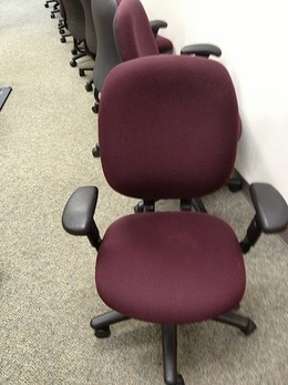allsteel access chair instructions ikea comfy used office furniture furniturefinders high back trooper chairs
