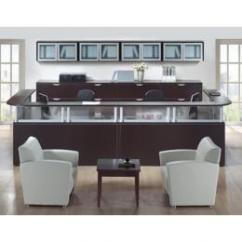 Allsteel Relate Chair Reviews Office With Attached Desk Used Reception Area : Sales Counter/reception *made To Order* At Furniture Finders
