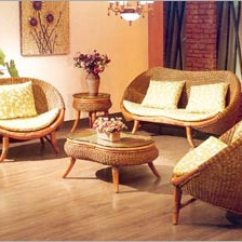 Rattan Living Room Chair Decorating A Furniture