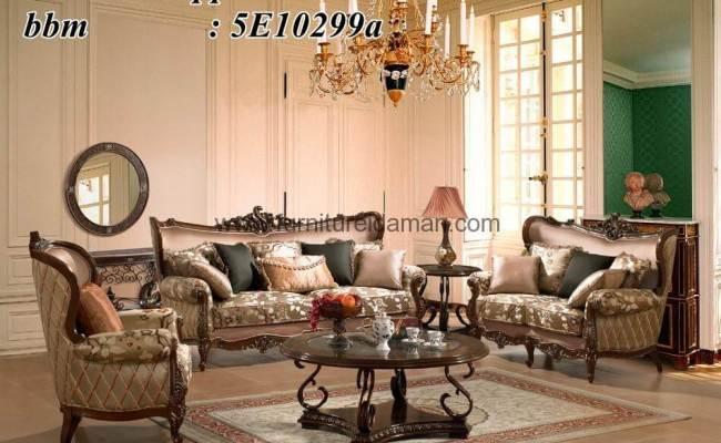 Kursi Sofa Set Ruang Tamu Mewah Ksi 13 Furniture Idaman