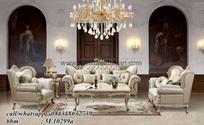Set Kursi Sofa Tamu Luxury Terbaru Ksi 25 Furniture
