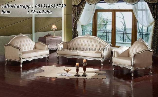 Set Kursi Sofa Tamu Mewah Klasik Turkey Ksi 22 Furniture