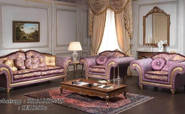 Set Kursi Tamu Sofa Turkey Mewah Klasik Ksi 11 Furniture