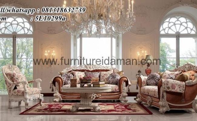 Set Sofa Tamu Luxury Modern Turkey Ksi 30 Furniture