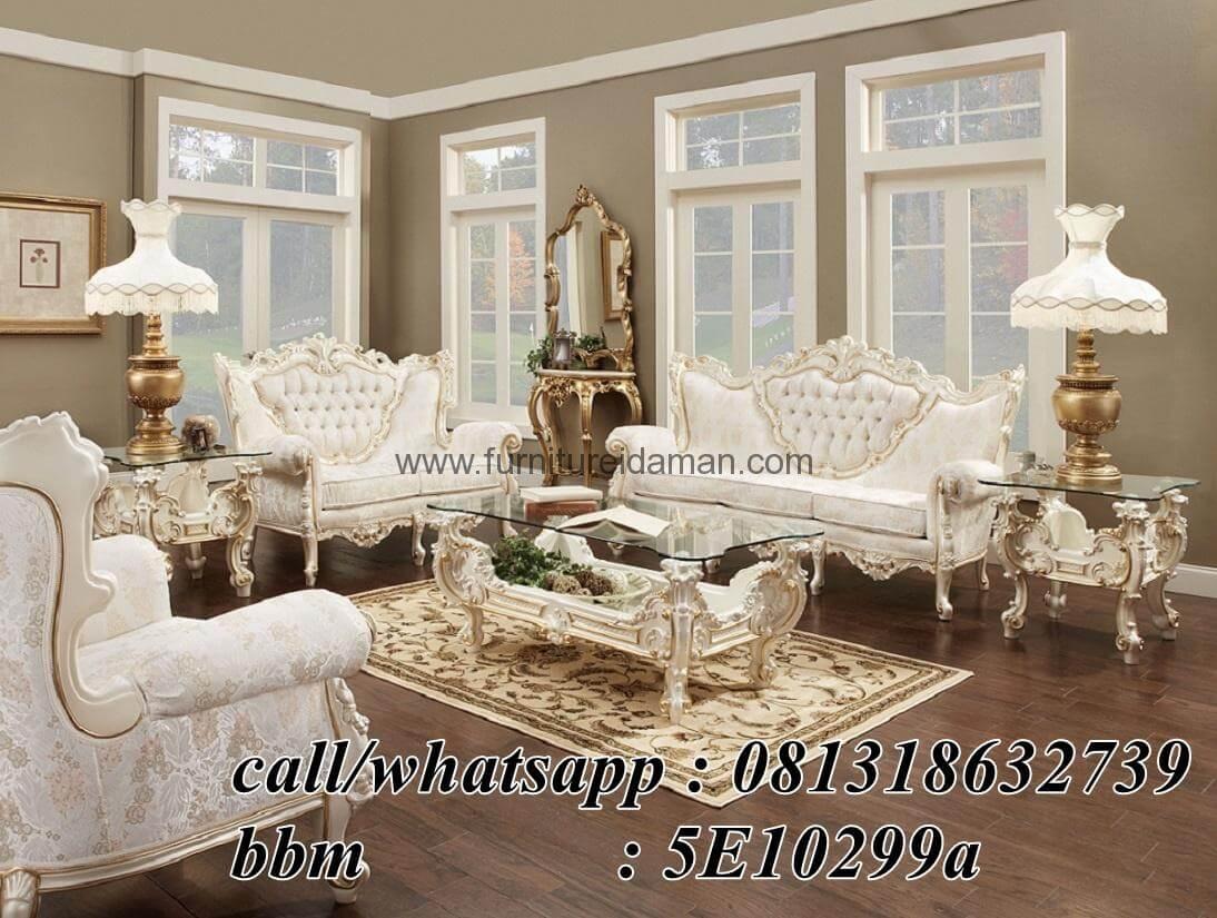 harga sofa bed inoac 2017 cleaning algarve tamu set italian model mewah ksi-35 - furniture ...