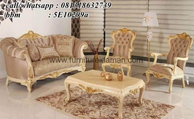 Set Sofa Tamu Takimi Mewah Klasik Ksi 40 Furniture