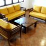 Set Kursi Tamu Minimalis Dudukan Kuning Ksi 60 Furniture