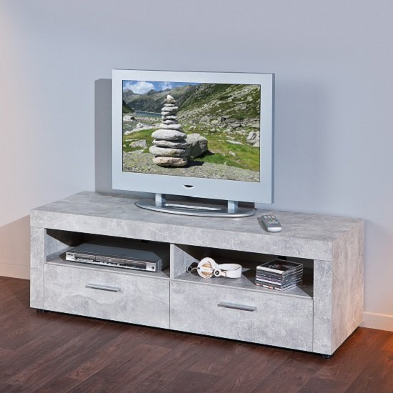 best deals on living room furniture large chandeliers croagh lcd tv stand in light grey with 2 drawers 27121