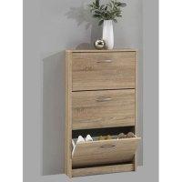 Alaska Shoe Storage Cabinet In Oaktree 14761 Furniture in