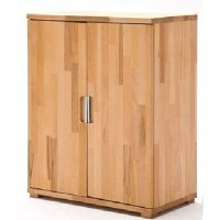 Cento Knotty Oak Storage Cabinet With 4 Door And 1 Drawer 22