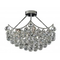 Gorgeous Pendant Ceiling Light with Crystal Glass Spheres ...