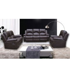 3 2 Leather Sofa Set Delaney Sleeper By Dhp Antasia Bonded And Seater In Brown Click To Enlarge