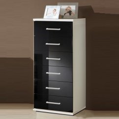 Living Room Storage Units Black How To Arrange Furniture In A Small With Fireplace And Tv Alton Tall Chest Of Drawers Alpine White Gloss