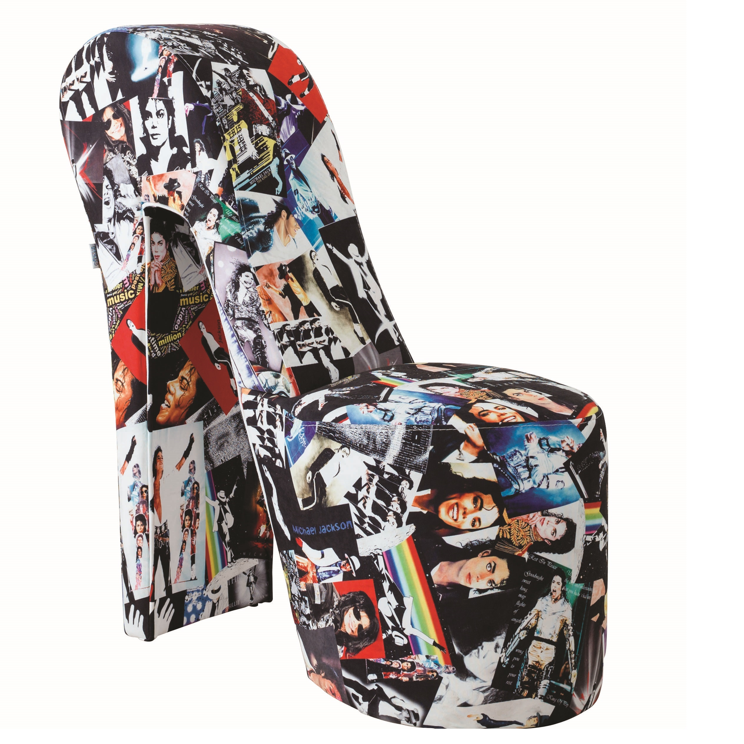 shoe shaped chair fishing boat stiletto michael jackson print novelty buy