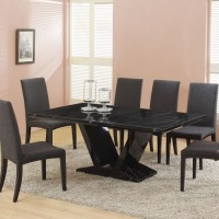 Black marble dining table | Shop for cheap Furniture and ...