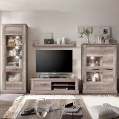 Living Room Furniture Sets Uk And Dining Color Schemes Montreal Set In Canyon Oak With Led Light