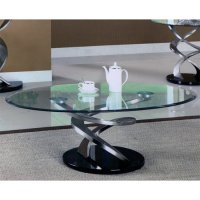 Rubber Bumper Glass Table Better Than Simple Glass Table