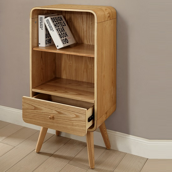 best deals on living room furniture decorating ideas for my worcester wooden small bookcase in natural ash with 1