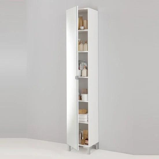 Tarragona Bathroom Cabinet, Floor Standing In White 10138