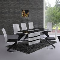 High Gloss Dining Table And Chairs | Furniture in Fashion