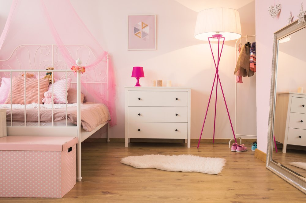 selecting wall mirrors for girls room