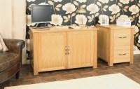 Oak computer desk | Shop for cheap Office Supplies and ...