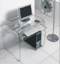 Boxey Clear Glass Computer Desk 1976 Furniture in Fashion