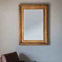 Brogan Decorative Wall Mirror Rectangular In Gold 29028