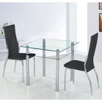 Kitchen Chairs: Glass Kitchen Table And Chairs