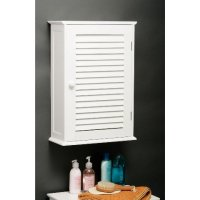 Custom Wooden Bathroom Wall Cabinet In White 3135 Furniture